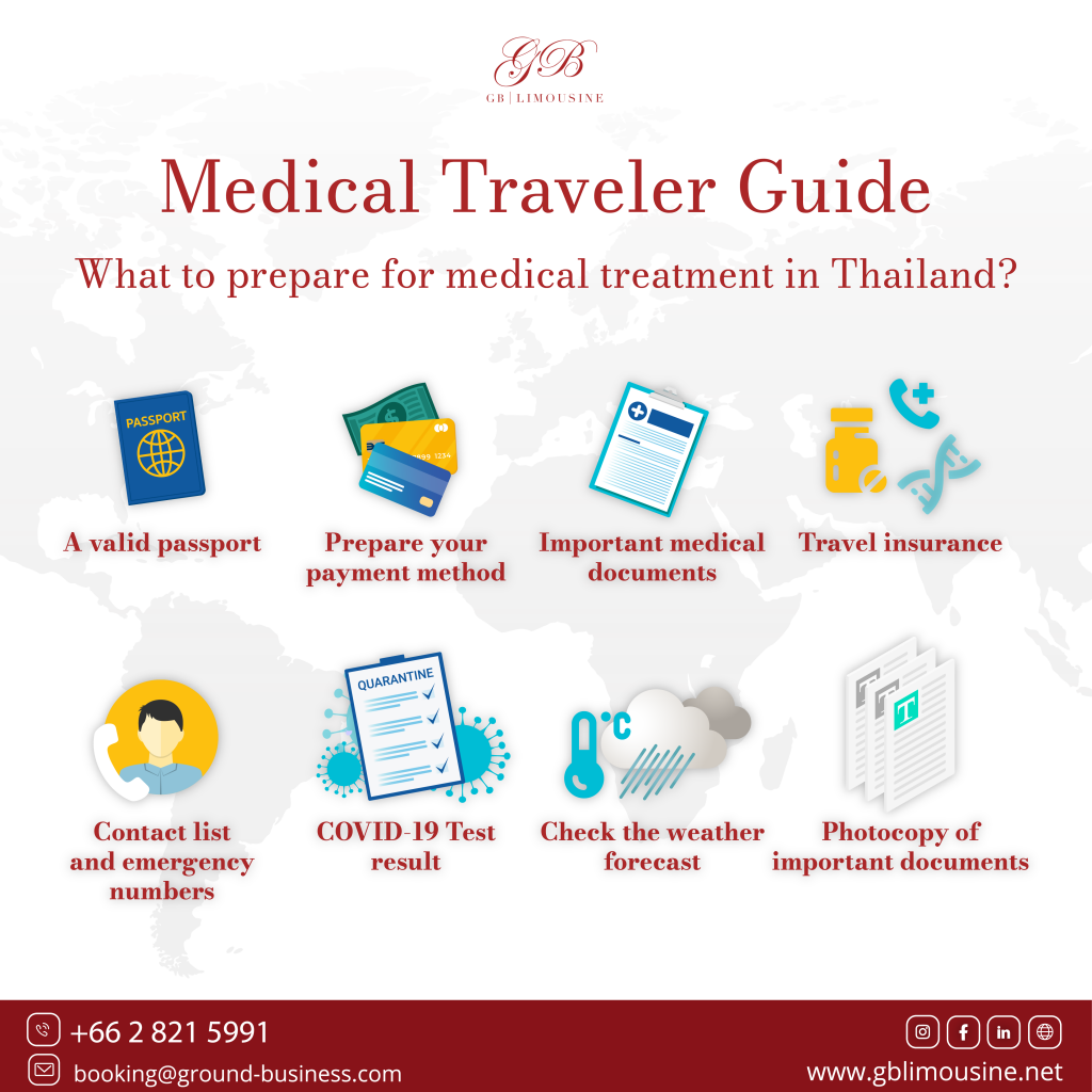 Medical Travel Guide (GB limousine)